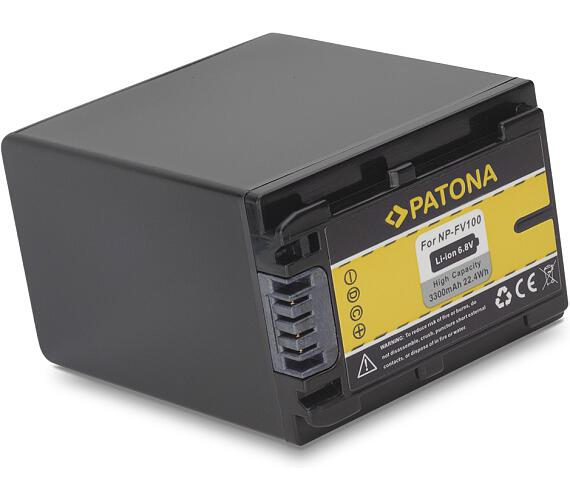 PATONA baterie pro foto Sony FV100 3300mAh