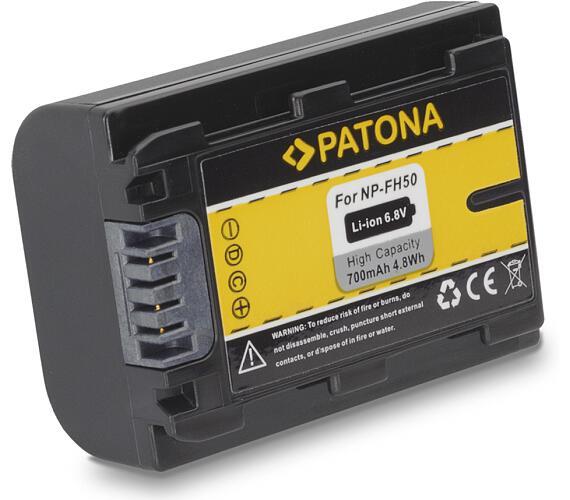PATONA baterie pro digitální kameru Sony NP-FH50 700mAh (PT1119)