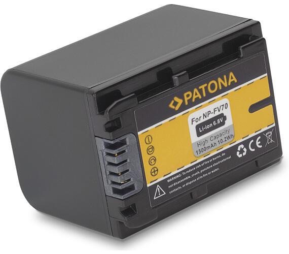 PATONA baterie pro foto Sony NP-FV70 1500mAh