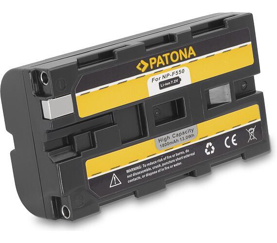 PATONA baterie pro digitální kameru Sony NP-F550 1800mAh (PT1052)