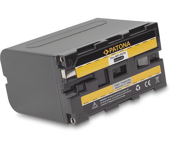 PATONA baterie pro digitální kameru Sony NP-F970 6600mAh (PT1074)