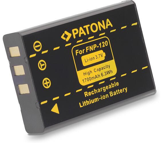 PATONA baterie pro foto Fuji NP-120 1700mAh (PT1017)