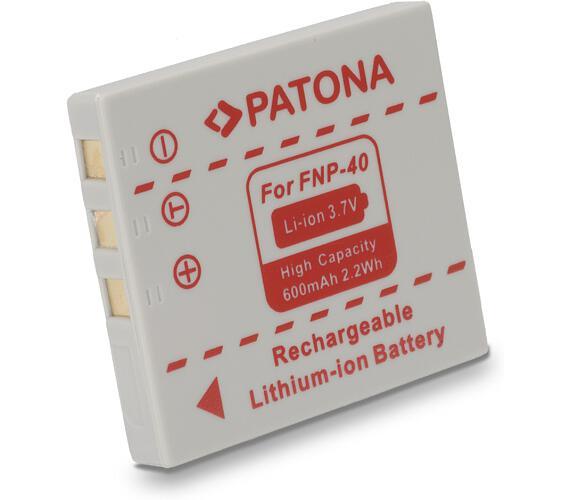 PATONA baterie pro foto Fuji NP-40 600mAh (PT1013)