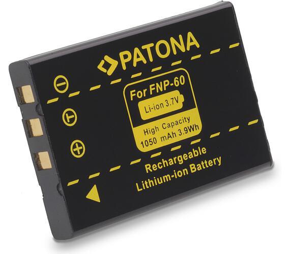 PATONA baterie pro foto Fuji NP-60 1050mAh