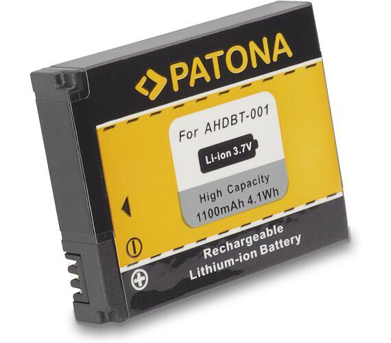 PATONA baterie pro digitální kameru GoPro Hero ABPAK-001 1100mAh Li-Ion (PT1100)