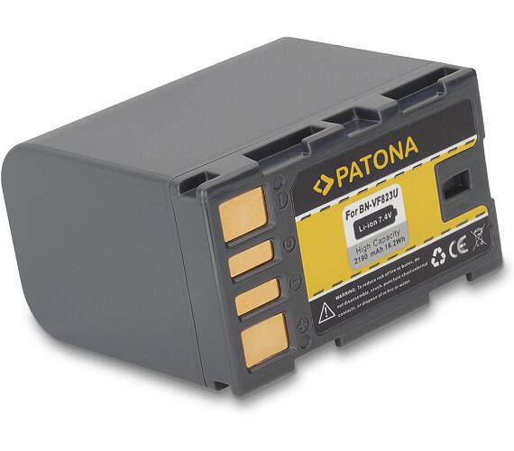 PATONA baterie pro foto JVC BN-VF823U 2190mAh Li-Ion (PT1121)
