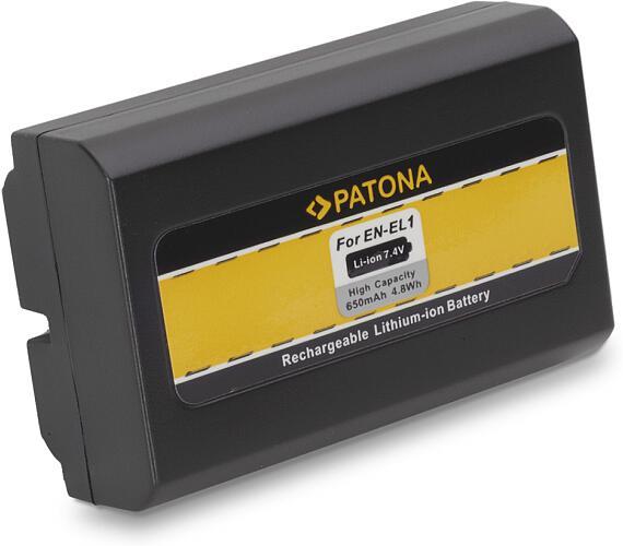 PATONA baterie pro foto Nikon EN-EL1 650mAh (PT1033)