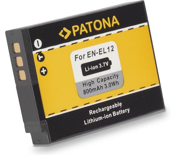PATONA baterie pro foto Nikon ENEL12 800mAh