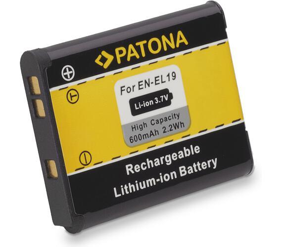 PATONA baterie pro foto Nikon EN-EL19 600mAh (PT1090)