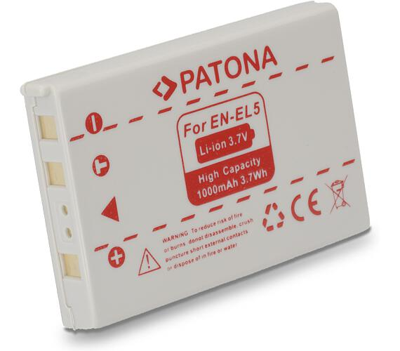 PATONA baterie pro foto Nikon EN-EL5 1000mAh (PT1037)