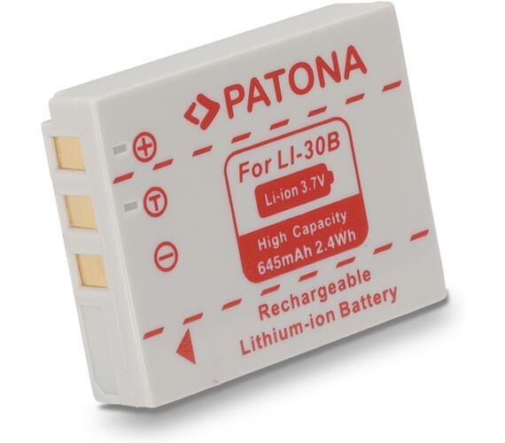 PATONA baterie pro foto Olympus Li 30b 645mAh (PT1030)