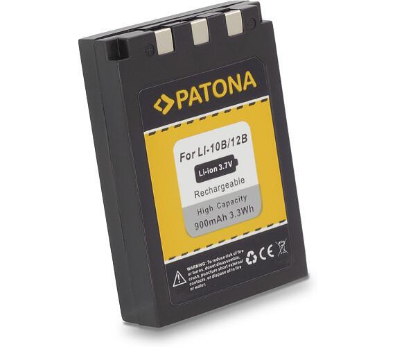 PATONA baterie pro foto Olympus Li-12B / Li-10B 900mAh (PT1029)