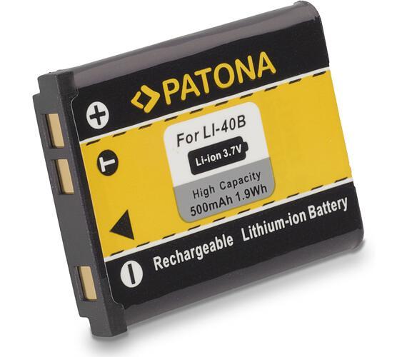 PATONA baterie pro foto Rollei Compactline 800/ Olympus Li-40B/ Li-42B 500mAh