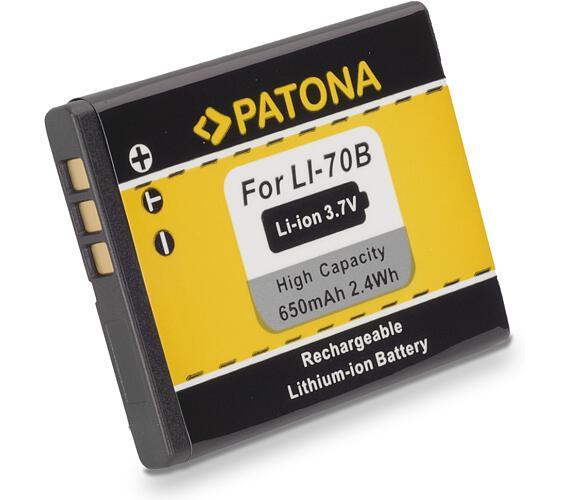 PATONA baterie pro foto Olympus Li-70b 650mAh (PT1093)