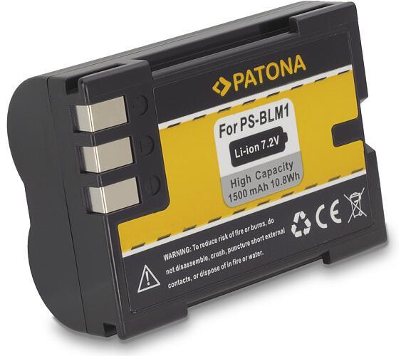 PATONA baterie pro foto Olympus PS-BLM1 1500mAh Li-Ion 7,2V