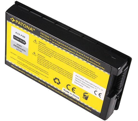 PATONA baterie pro ntb ASUS A32-F80 4400mAh Li-Ion 10,8V (PT2274) + DOPRAVA ZDARMA
