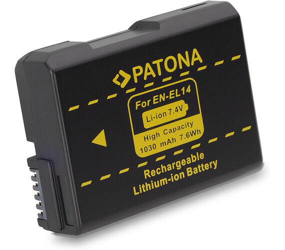 PATONA baterie pro foto Nikon EN-EL14 1030mAh new model (PT1134)