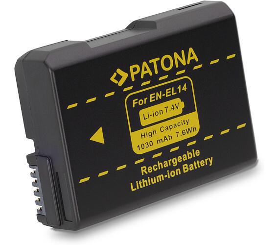 PATONA baterie pro foto Nikon ENEL14 1030mAh new model