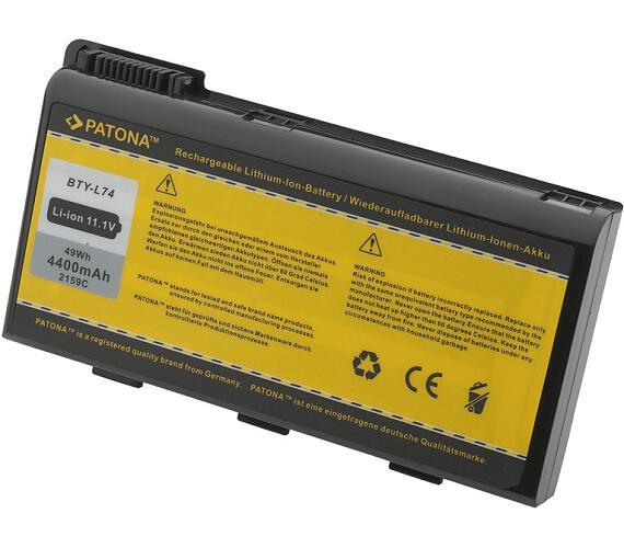 PATONA baterie pro ntb MSI BTY-L74 4400mAh 11,1V (PT2159) + DOPRAVA ZDARMA
