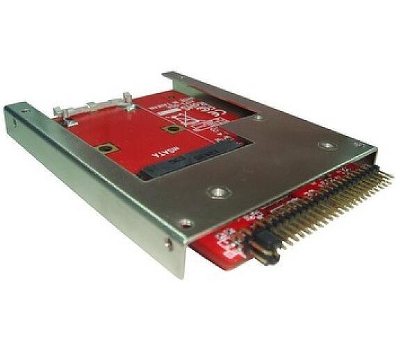 """Kouwell ST-173-7 Převodník Full-Size mSATA SSD na 44Pin 2.5"""" IDE SSD"""