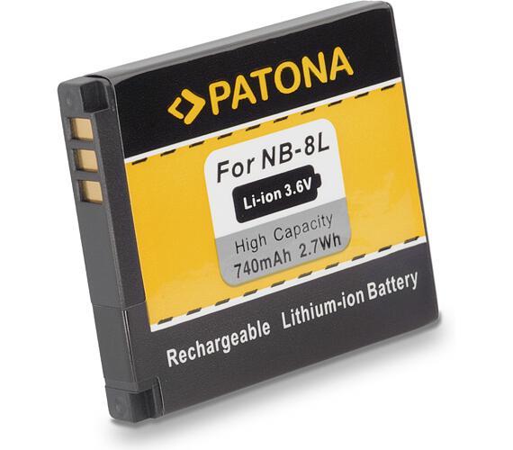 PATONA baterie pro foto Canon NB-8L 740mAh Li-Ion (PT1113)
