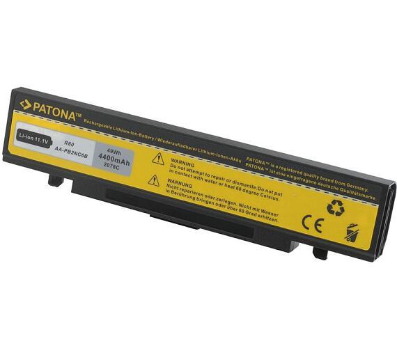 PATONA baterie pro ntb SAMSUNG P50/60 R40/45 X60 4800mAh Li-Ion 11,1V + DOPRAVA ZDARMA