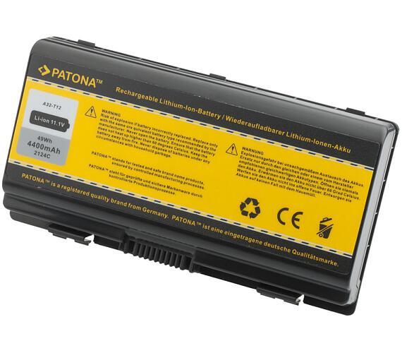 PATONA baterie pro ntb ASUS X51/ T12 4400mAh Li-Ion 11,1V (PT2124) + DOPRAVA ZDARMA