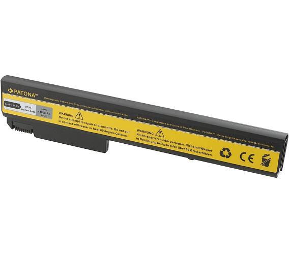 PATONA baterie pro ntb HP HP EliteBook 8530 4400mAh Li-Ion 14,8V (PT2242) + DOPRAVA ZDARMA