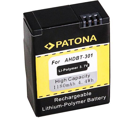 PATONA baterie pro digitální kameru GoPro HD Hero 3 1180mAh Li-Pol (PT1150)