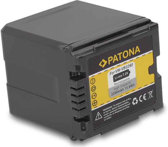 PATONA baterie pro digitální kameru Panasonic VW-VBG260 2200Ah (PT1152)