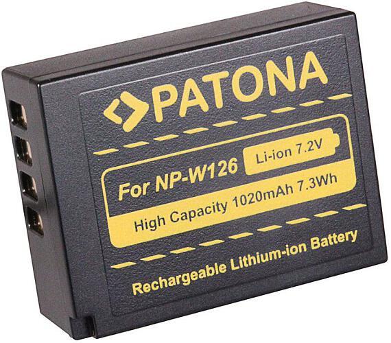 PATONA baterie pro foto Fuji NP-W126 1020mAh Li-Ion (PT1111)
