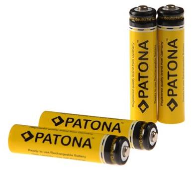 PATONA nabíjecí baterie AAA 900mAh 4ks