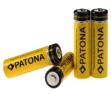 PATONA nabíjecí baterie AA 2200mAh 4ks