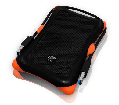 SILICON POWER 1TB Externí pevný disk Armor A30/ USB3.0/ Vysoce odolný/ Černý