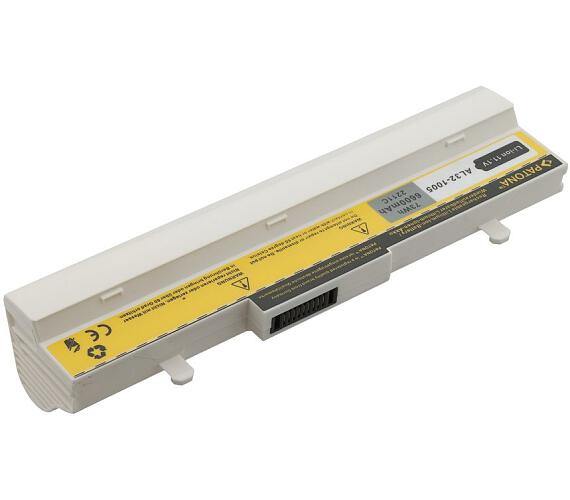PATONA baterie pro ntb ASUS Eee PC 1005/1101 6600mAh 11,1V bílá (PT2211) + DOPRAVA ZDARMA