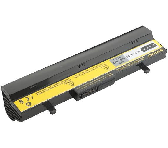 PATONA baterie pro ntb ASUS Eee PC 1005/1101 6600mAh 11,1V černá (PT2212) + DOPRAVA ZDARMA