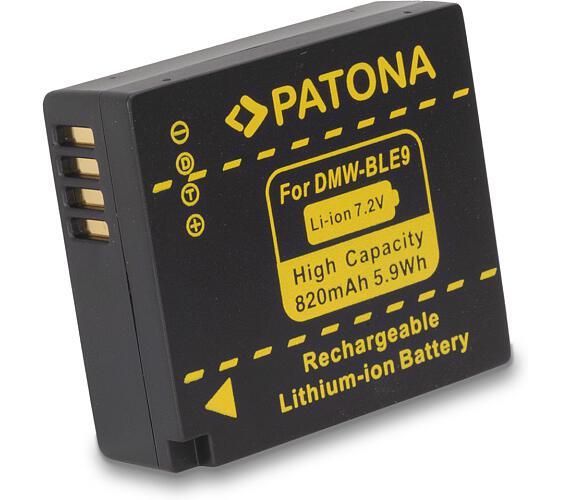 PATONA baterie pro foto Panasonic DMW-BLE9 820mAh (PT1112)