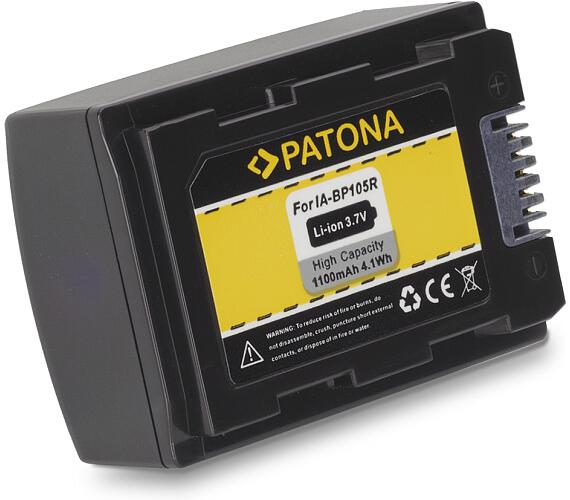 PATONA baterie pro digitální kameru Samsung IA-BP105R 1100mAh 3,7V Li-Ion (PT1133)