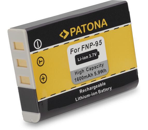 PATONA baterie pro foto Fuji NP-95 1600mAh