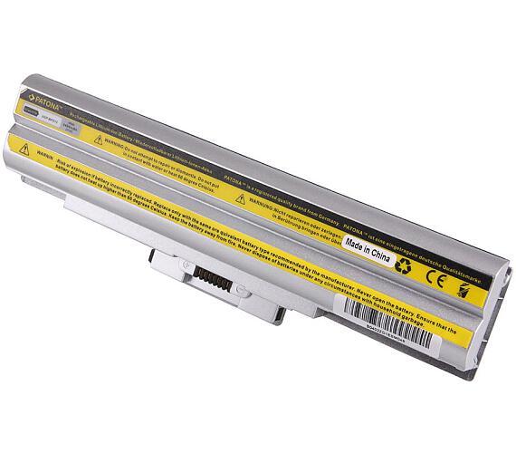 PATONA baterie pro ntb SONY VAIO VGP-BPS13 4400mAh Li-Ion 11,1V stříbrná (PT2319) + DOPRAVA ZDARMA