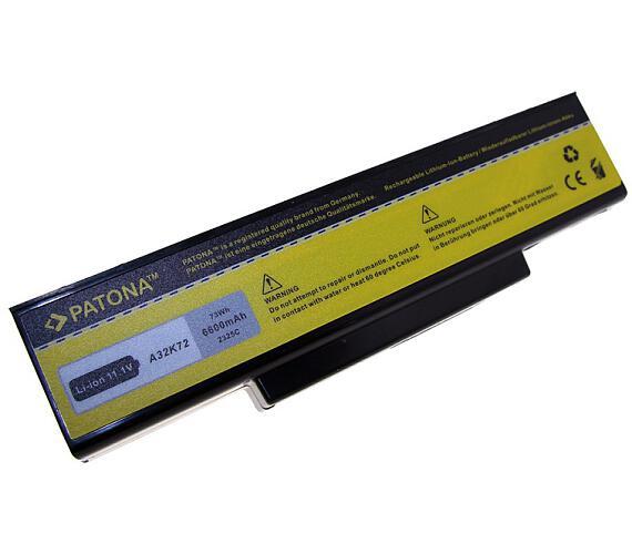 PATONA baterie pro ntb ASUS A32-K72 6600mAh Li-Ion 11,1V (PT2325) + DOPRAVA ZDARMA