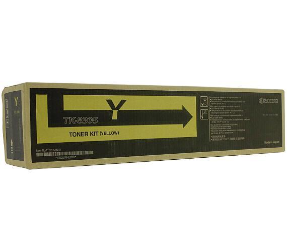 Kyocera toner TK-8305Y/ 3050ci/ 3550ci/ 15 000 stran/ Žlutý