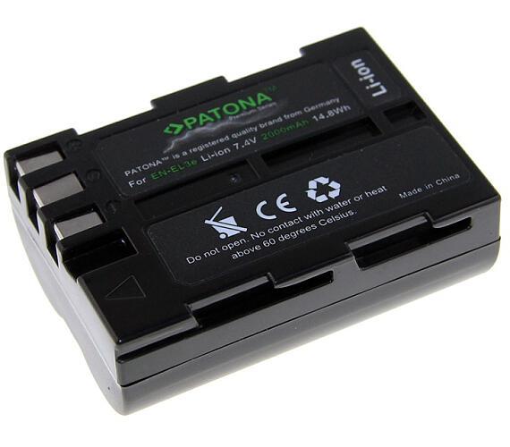PATONA baterie pro foto Nikon EN-EL3e 2000mAh Li-Ion Premium