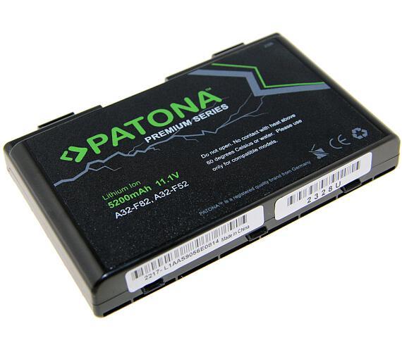 PATONA baterie pro ntb ASUS K50ij 5200mAh Li-Ion 11,1V PREMIUM (PT2328) + DOPRAVA ZDARMA