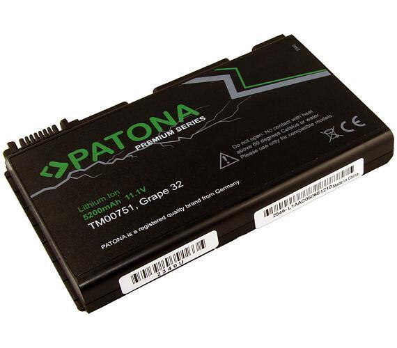 PATONA baterie pro ntb ACER EXTENSA 5220 5200mAh Li-Ion 11,1V PREMIUM (PT2340) + DOPRAVA ZDARMA