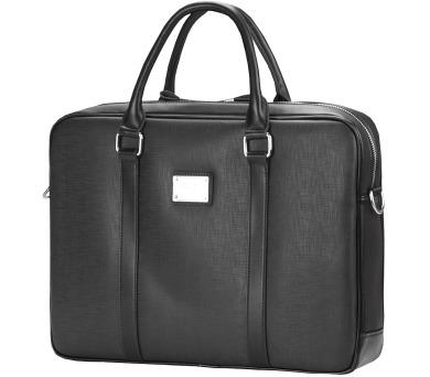 """CONTINENT taška na notebook CM-121/ 15-16""""/ EKO kůže/ elegantní/ dámská/ černá (CM-121 black) + DOPRAVA ZDARMA"""