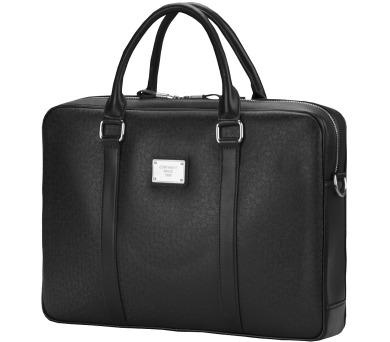 """CONTINENT taška na notebook CM-122/ 15-16""""/ EKO kůže/ elegantní/ dámská/ černá (CM-122 black) + DOPRAVA ZDARMA"""