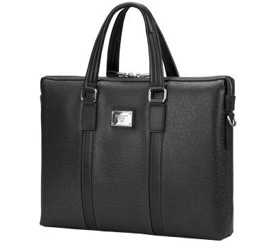 """CONTINENT taška na notebook CM-142/ 15-16""""/ EKO kůže/ elegantní/ dámská/ černá (CM-142 Black) + DOPRAVA ZDARMA"""