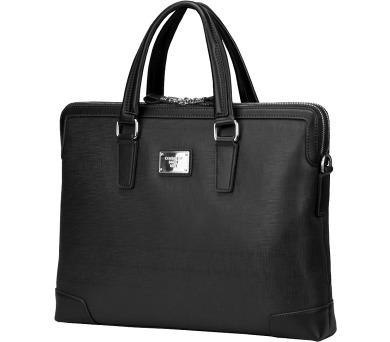 """CONTINENT taška na notebook CM-161/ 15-16""""/ EKO kůže/ elegantní/ dámská/ černá (CM-161 Black) + DOPRAVA ZDARMA"""