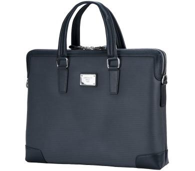 """CONTINENT taška na notebook CM-163/ 15-16""""/ EKO kůže/ elegantní/ dámská/ tmavě modrá (CM-163 Blue) + DOPRAVA ZDARMA"""